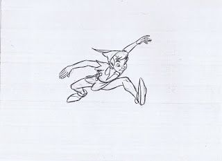 Peter pan animation by Milt Kahn
