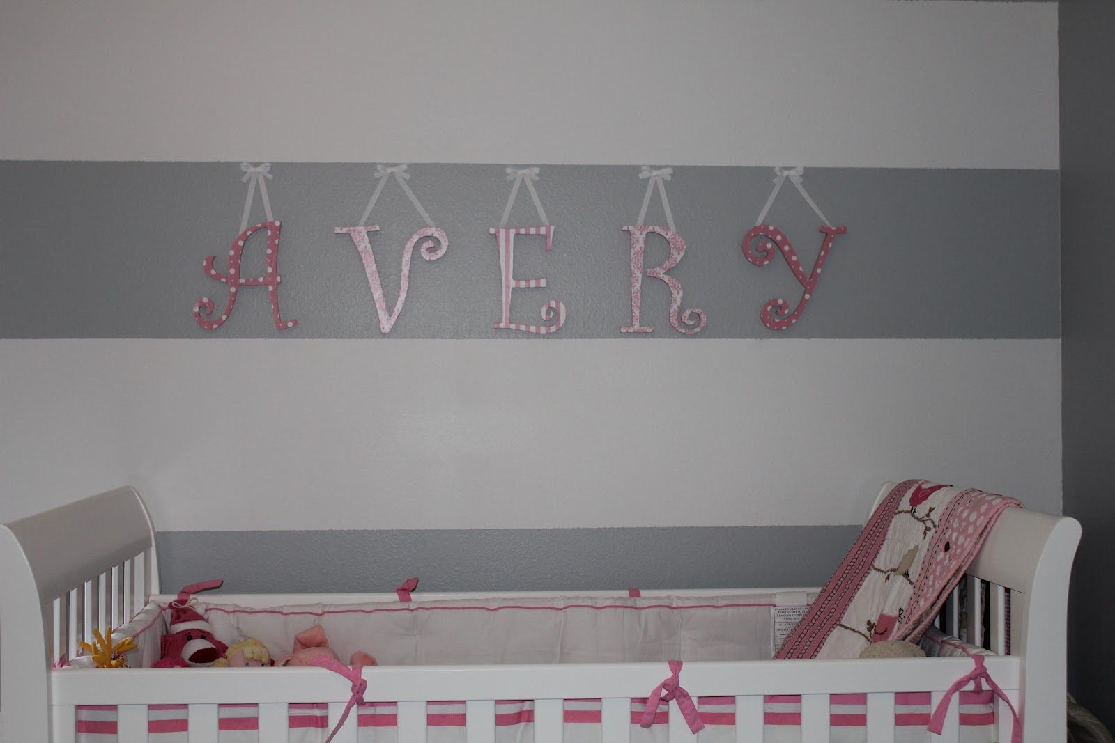 50 Wall Letters for Baby Room