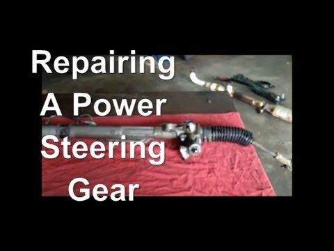 How To Fix A Leaking Power Steering Gear Rack And Pinion 97 Chrysler Sebring Power Car Maintenance Free Books