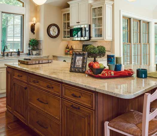 kitchen remodel with island in petosky mi designed by dawn in rh pinterest com