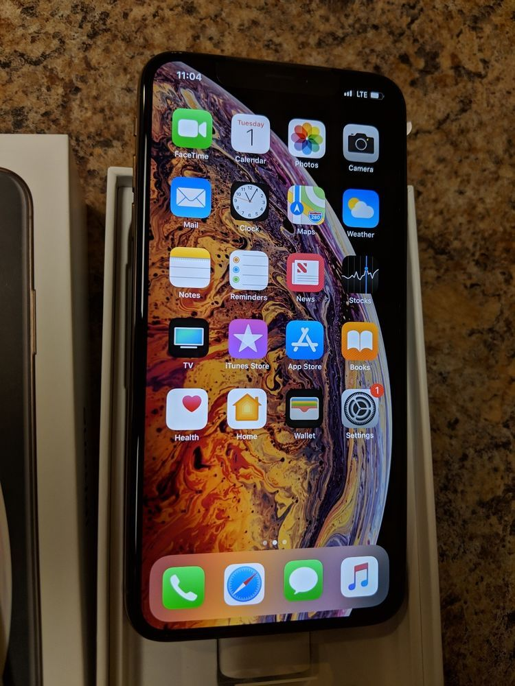 Apple iPhone XS Max - 64GB - Gold (U S  Cellular/Unlocked