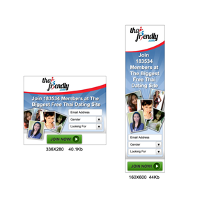 Dating site banner ads
