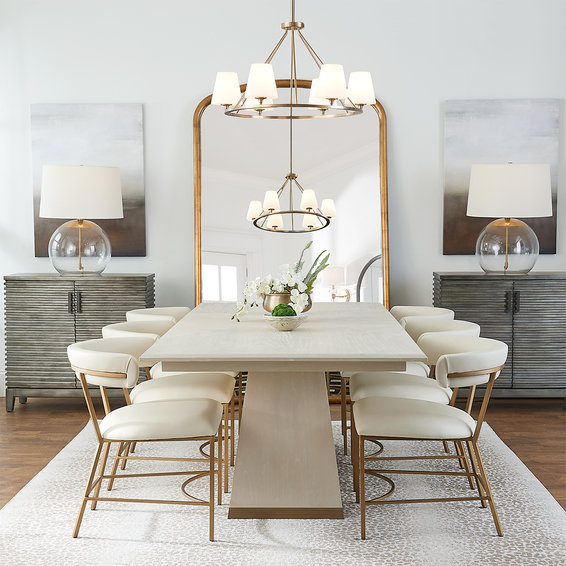 New York Chic Dining Table