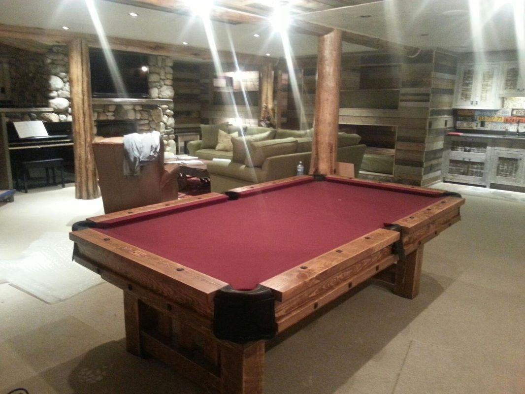 Rustic Western Pool Tables Lower Level Pinterest Pool Table - Western pool table