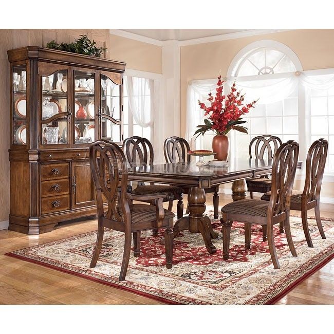 35++ Red wood dining room sets Tips