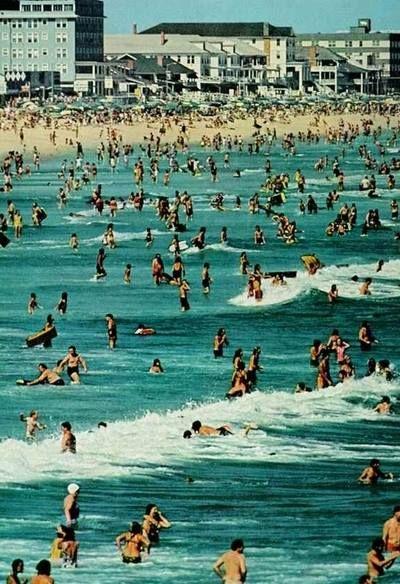 ocean city maryland labor day weekend c1972 ocmd oceancitymd rh pinterest com