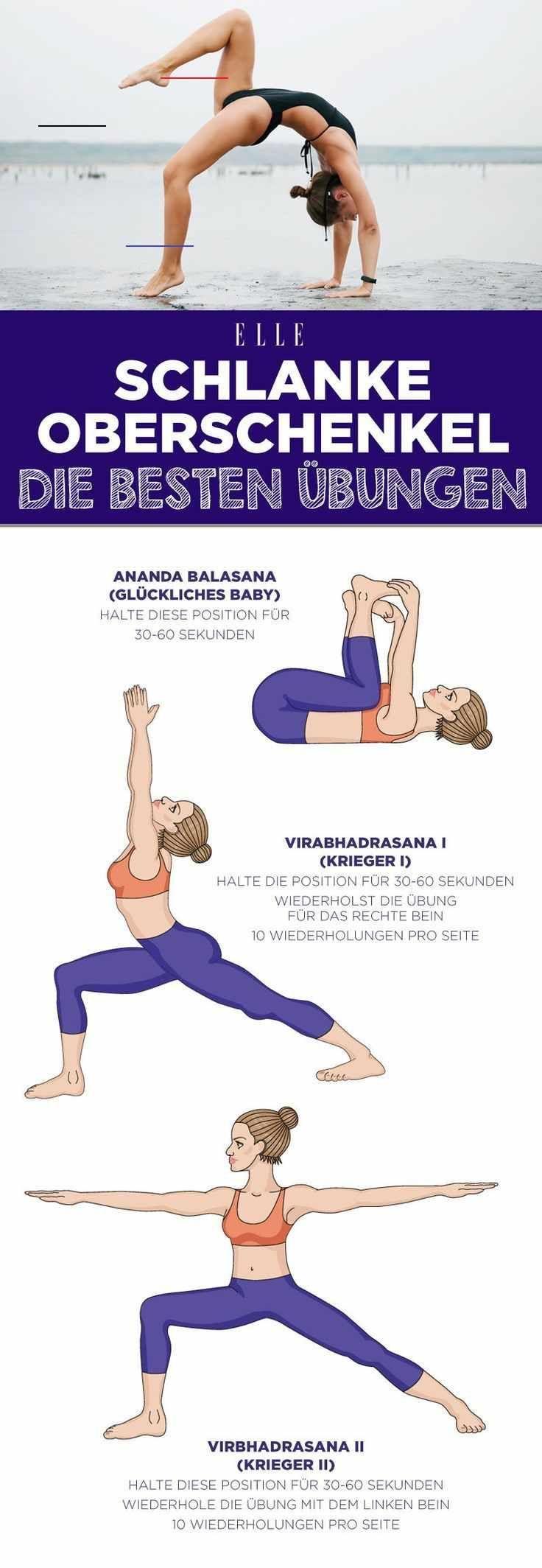 Schlanke Oberschenkel: 3 einfache Yoga-Übungen, die sofort helfen Schlanke Oberschenkel: 3 einfache...