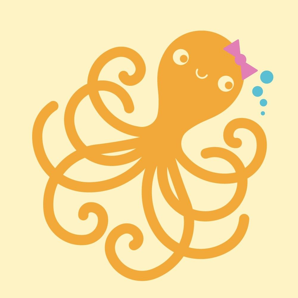 Ocean Nursery Octopus Wall Decal Kids Underwater Decor. $20.00, via ...