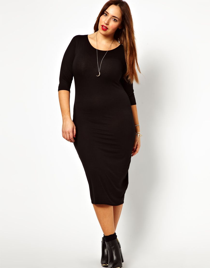 Pin By Kimya Smith On My Style Midi Dress With Sleeves Midi Dress Plus Size Long Sleeve Bodycon Midi Dress [ 1110 x 870 Pixel ]