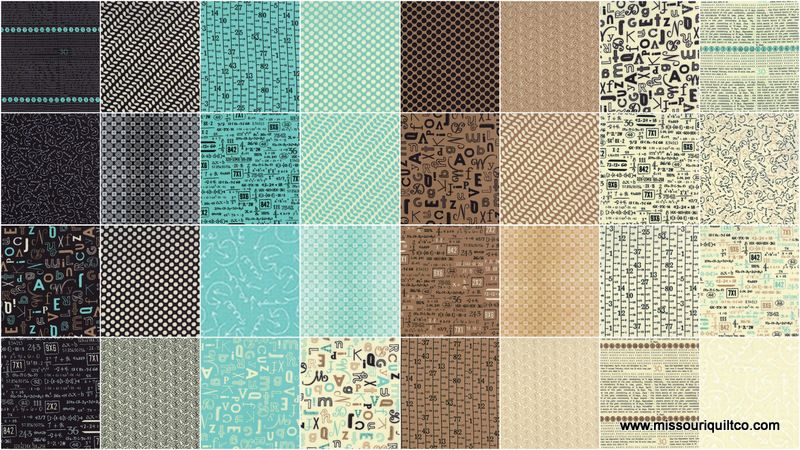 Missouri Star Quilt Co. Elementary Fat Quarter Bundle by Sweetwater for Moda Fabrics