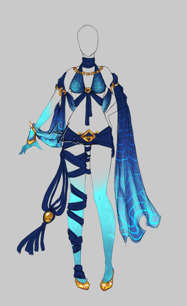 outfit design 179 closed by lotuslumino on deviantart