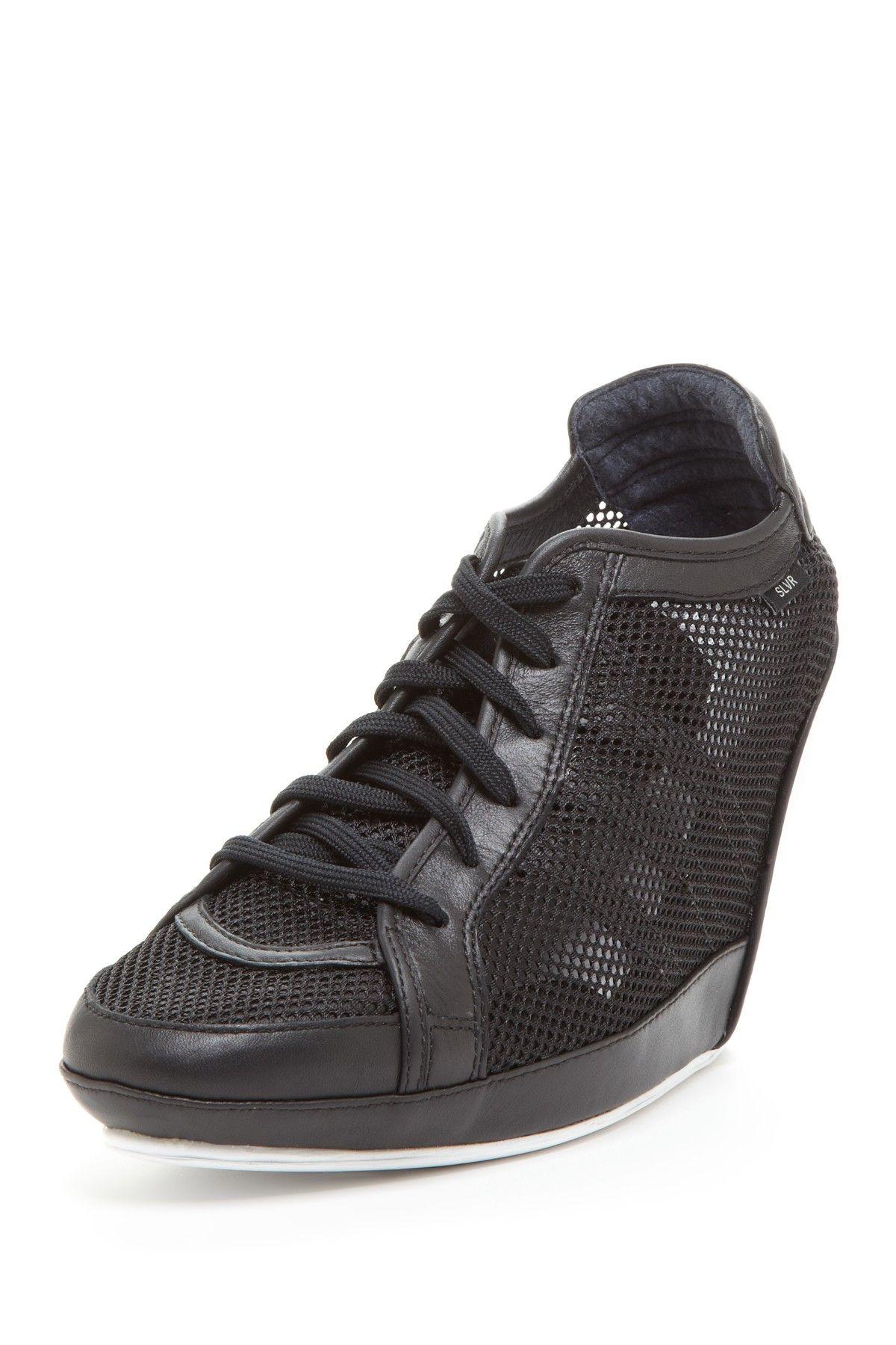 13b540f1eb Adidas SLVR Clima Wedge Sneaker Wedge  Sneaker  Lace-upWomen  Shoes ...