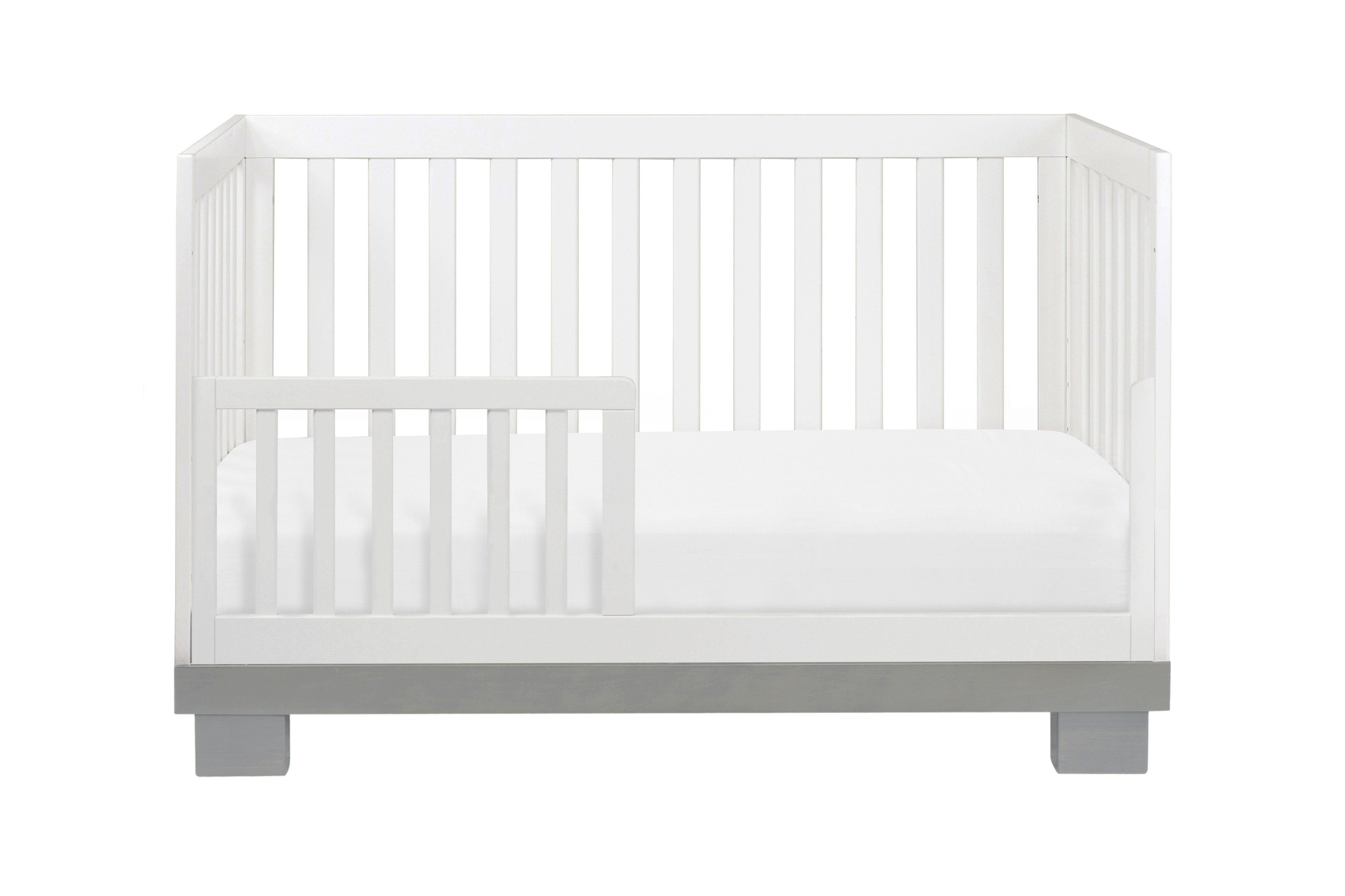 Modo 3 In 1 Convertible Crib With Toddler Bed Conversion Kit