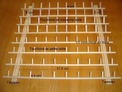 porte bobines en bois tuto pour fabriquer loisirs cr atifs les tuto pinterest bobines. Black Bedroom Furniture Sets. Home Design Ideas