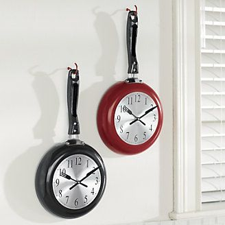 Fry Pan Clock from Ginnys ®