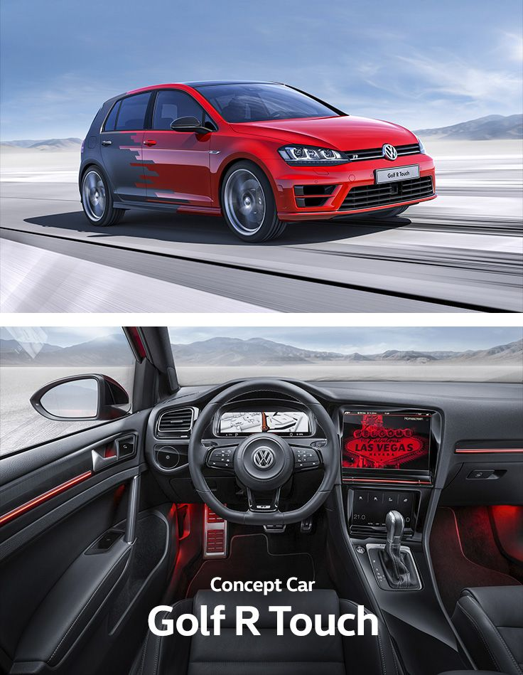 gesture control in a volkswagen concept car the driver of the golf rh pinterest com