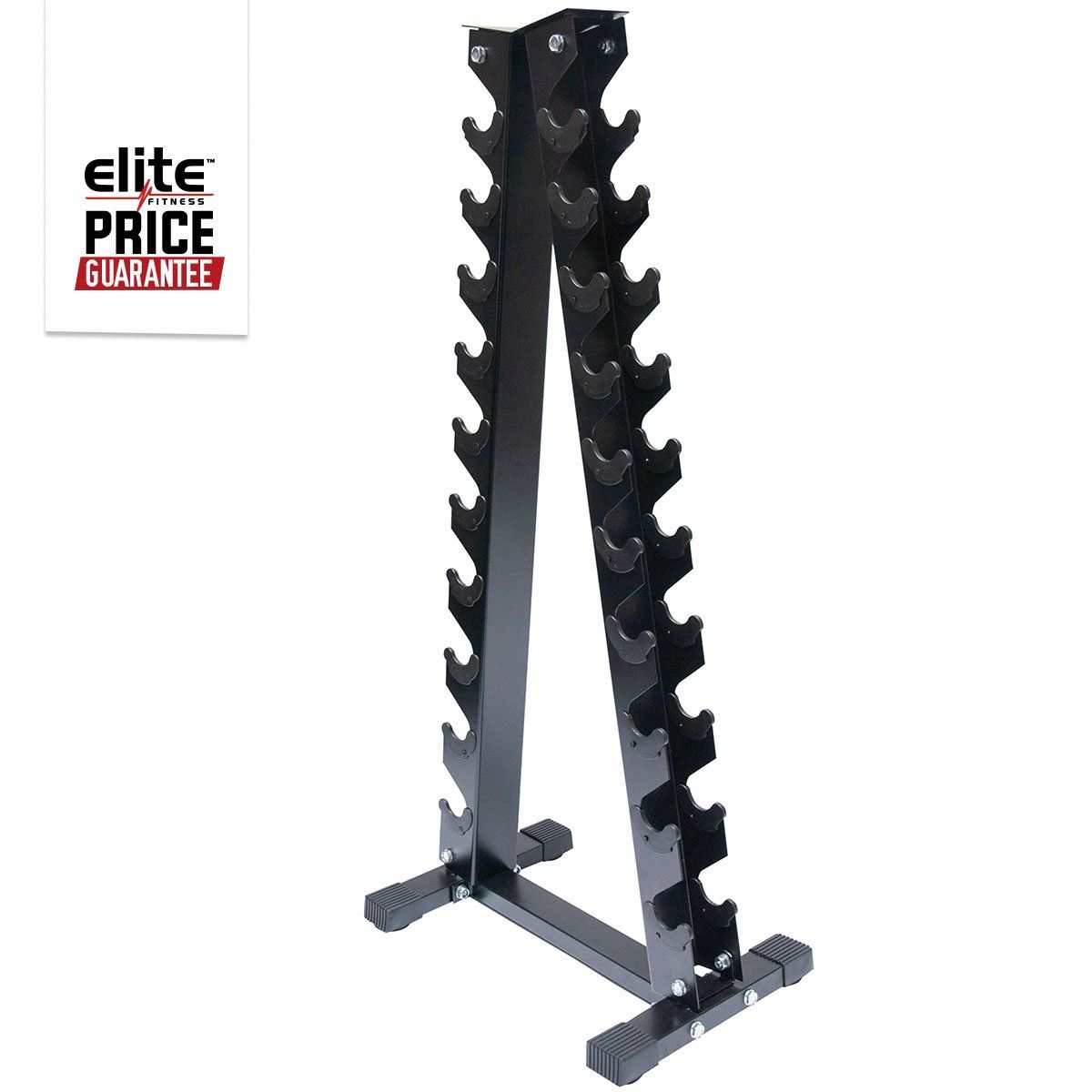 Xtreme Elite Vinyl Dumbbell Rack Easy And Convenient Storage The Heavy Duty Xtreme Elite Vinyl Dumbbell Rack Holds Up To 1 10k In 2020 Dumbbell Rack Dumbbell Vinyl