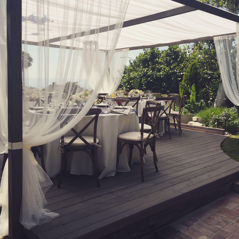 party style gazebo tent vineyard chairs backyard party rh pinterest com