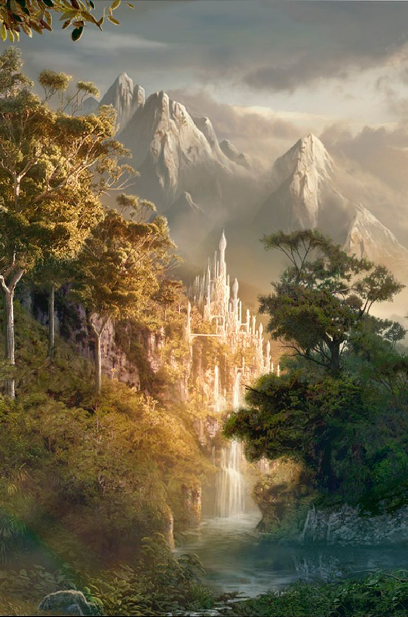 Legolas Quotes Wallpaper A Castle Hidden From View The Secret Kingdom From The