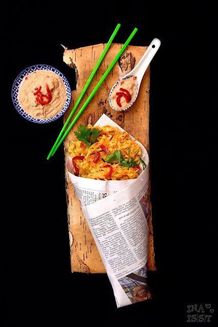 Indonesian European Fusion Streetfood II - Nudelpuffer mit ...