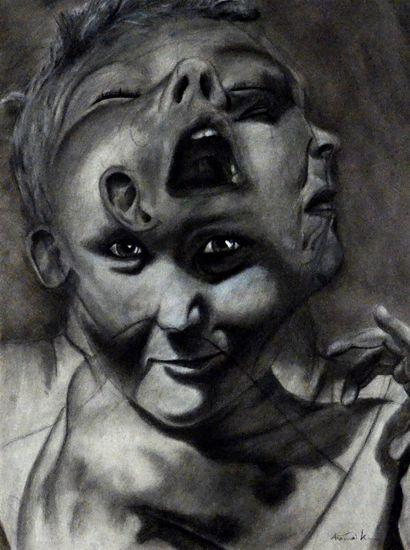 Triple-headed Boy