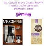 Mr. Coffee® + Millstone® Coffee #Giveaway #CoffeeJourneys
