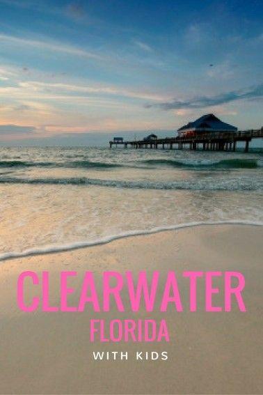 exploring clearwater beach florida with kids trekaroo blog rh pinterest com