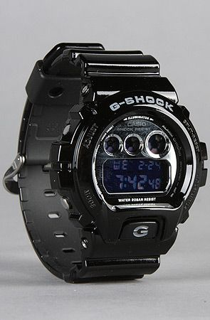 The Metallic 6900 Watch in Black by G-SHOCK Use code buck19