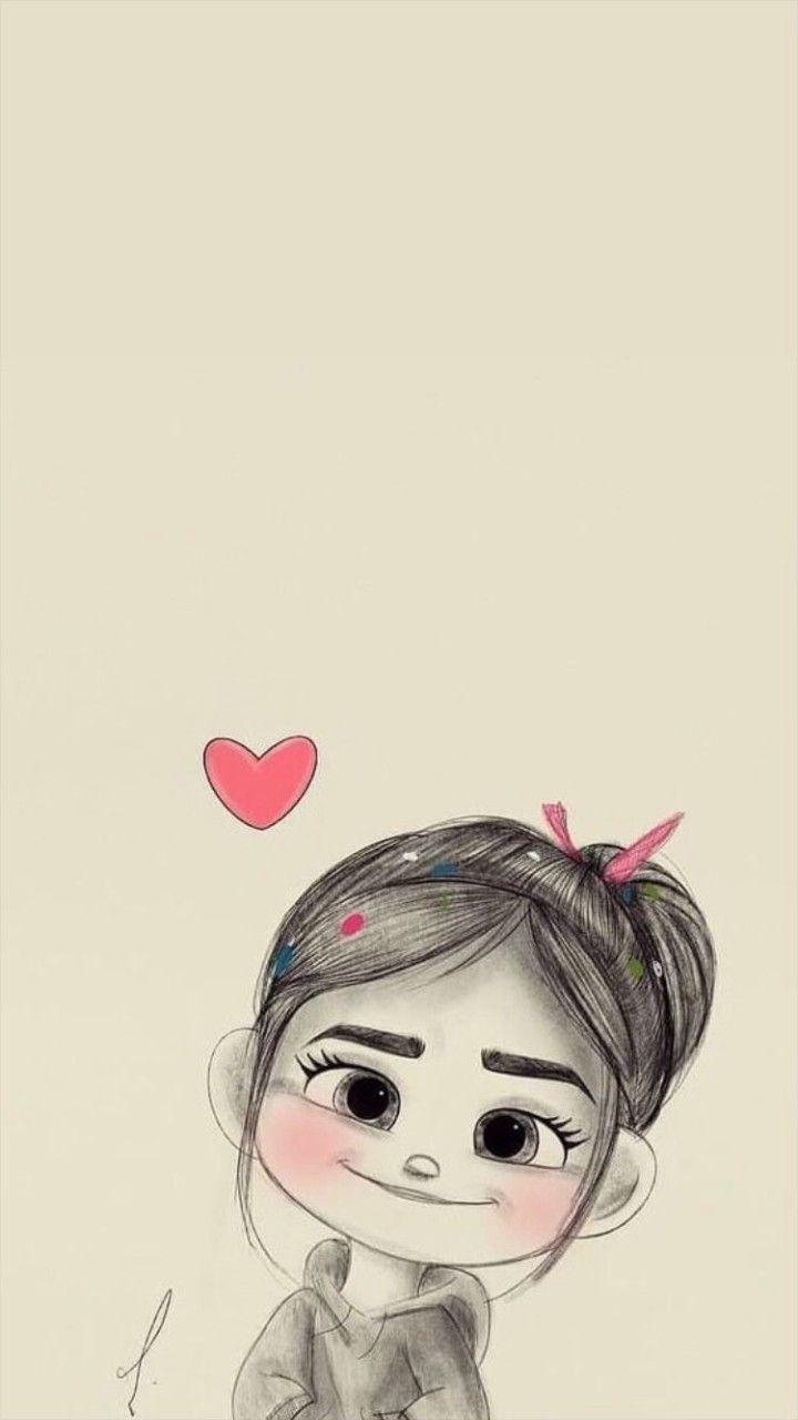 Pin By Saghar On Wallpaper Cute Cartoon Wallpapers Cute Disney Wallpaper Girly Drawings