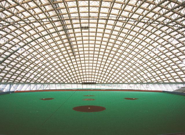 Toyo Ito, Dome in Odate (multipurpose dome), 1993—1997, Odate-shi, Akita, Japan   Photo by Mikio Kamaya - pritzkerprize.com