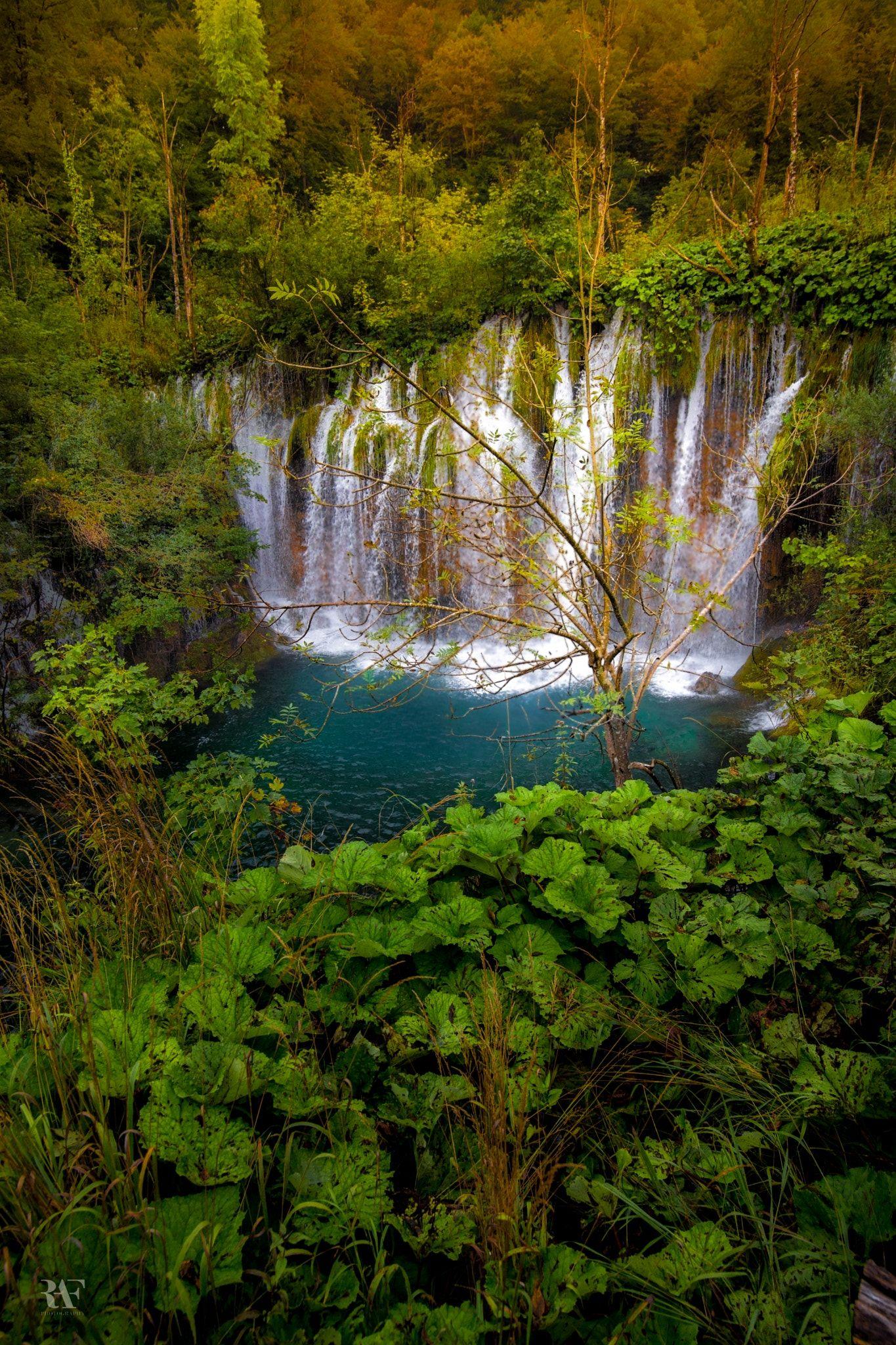 Hidden Little Paradise ) Scenery, Plitvice lakes