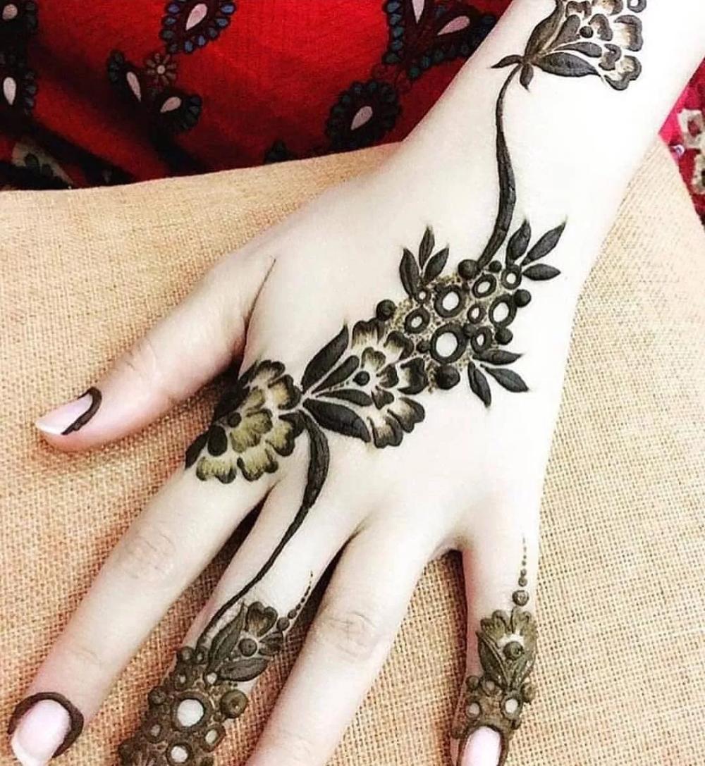 صور نقش حناء للعروس صور نقش حناء للخروجات فوتوجرافر Henna Designs Mehndi Designs Latest Henna Designs