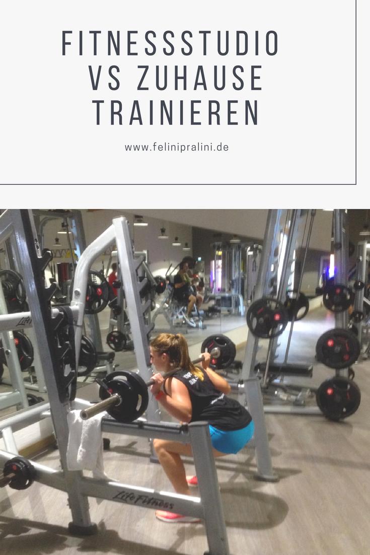 FITNESSSTUDIO VS ZUHAUSE TRAINIEREN | Fitness/Yoga/All of the Above ...