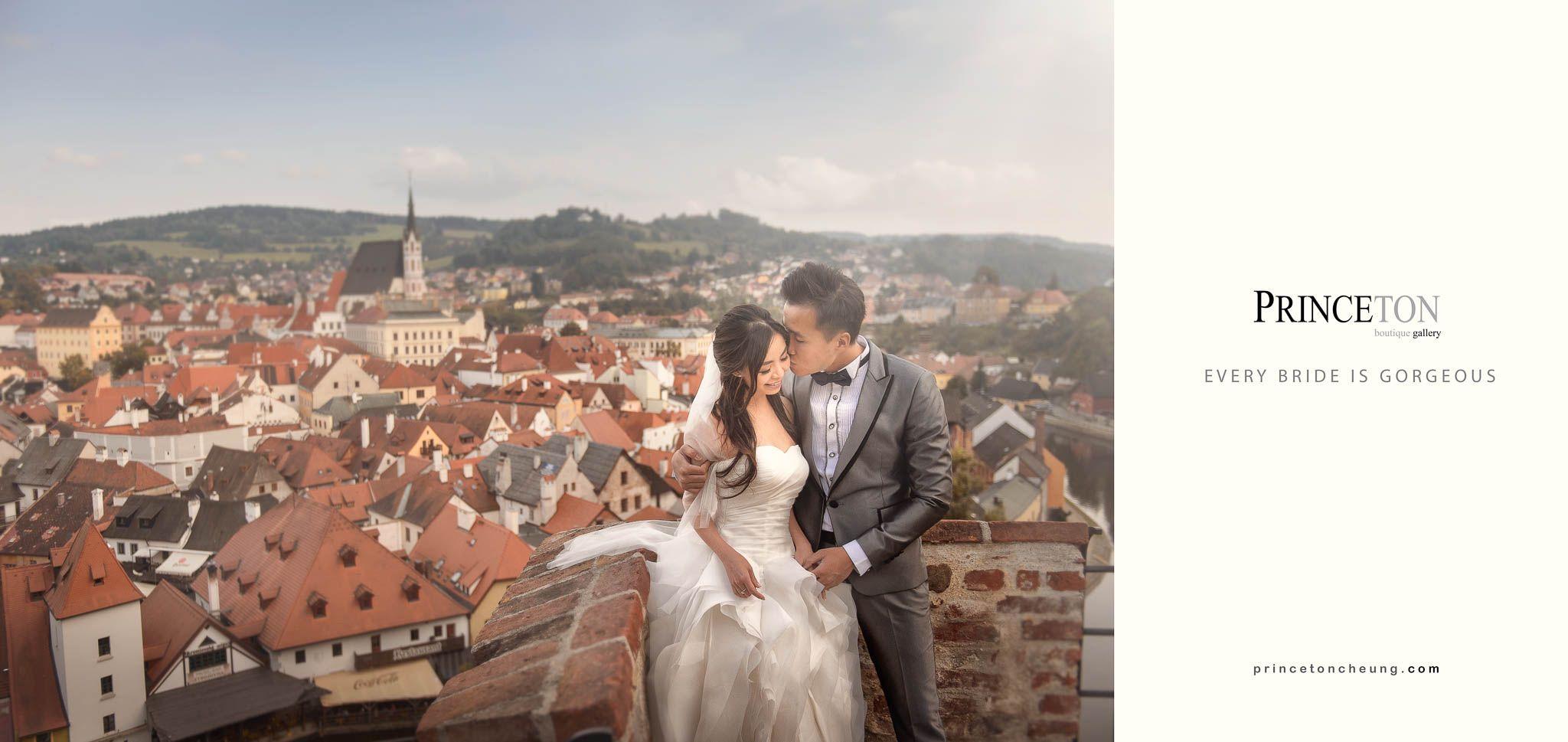 Overseas pre wedding Cesky Krumlov Czech Republic by Overseas pre wedding Cesky Krumlov Czech Republic by Princeton