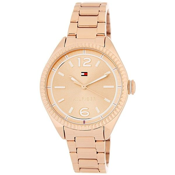 12477e1d51207c Tommy Hilfiger Women s Chrissy Bracelet Watch (7295 RSD) ❤ liked on  Polyvore featuring jewelry