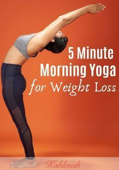 5 Minute Morning Yoga Routine for Weight Loss