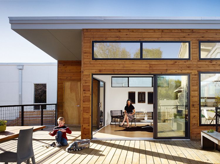 photo 2 of 6 in 6 modern prefabricated homes that are actually rh pinterest com