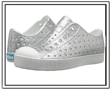 Native Jefferson Shoes-Silver Bling