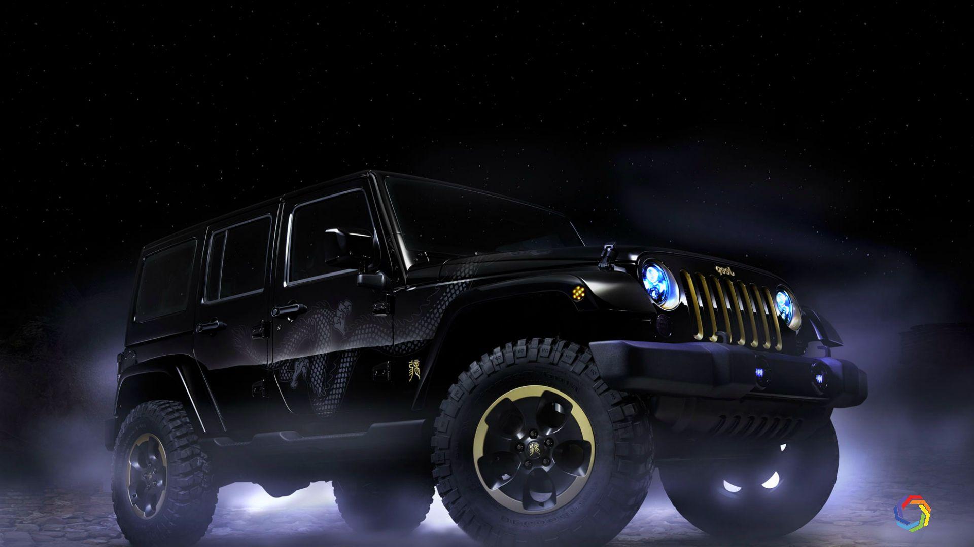 Jeep Wrangler Dragon Design Hd Wallpaper Dragon Design Jeep