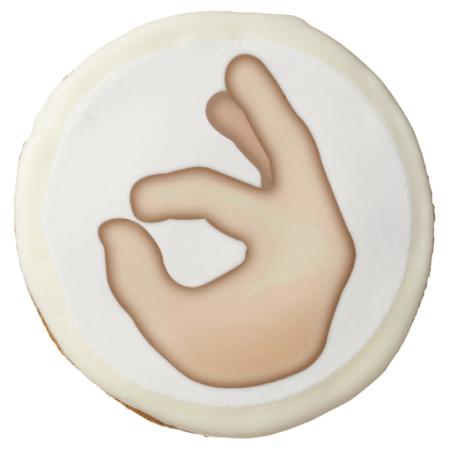 Ok Hand Sign Emoji Ok Hand Sign Cookies Chocolate Covered Oreos