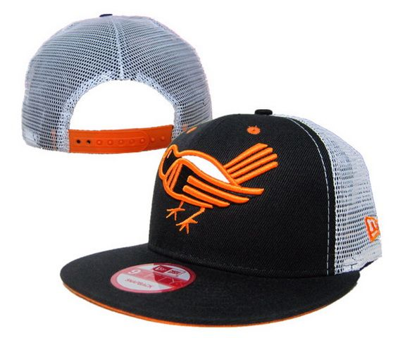 free shipping df374 a555a ... closeout cheap wholesale mlb baltimore orioles new era 9fifty snapback  mesh hats black for slae at