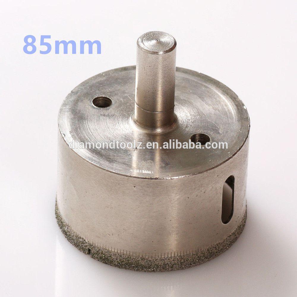Talentool 85mm Diamond Glass Core Drill Bit Hollow Core Diamond