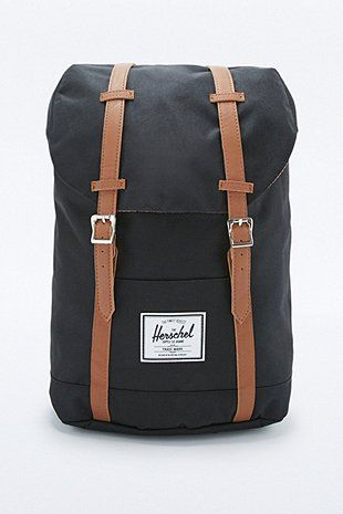 3607e113e19 Herschel Supply co. Retreat Black Backpack | clothes in 2019 ...