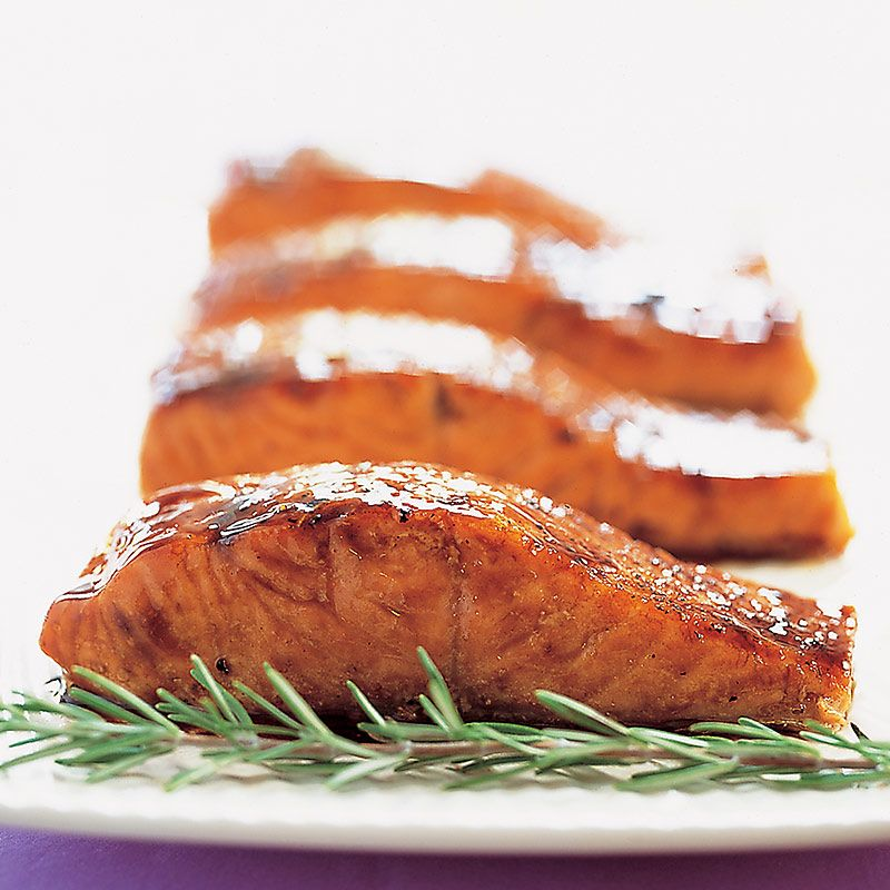 seared salmon with balsamic glaze from cook s country cooks rh pinterest com