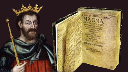 Magna Carta - A charter of liberties to which the English barons ...