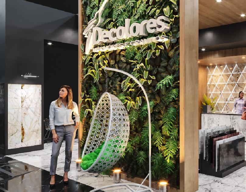 Stand Vult On Behance Exhibition Design Herbalife Interior