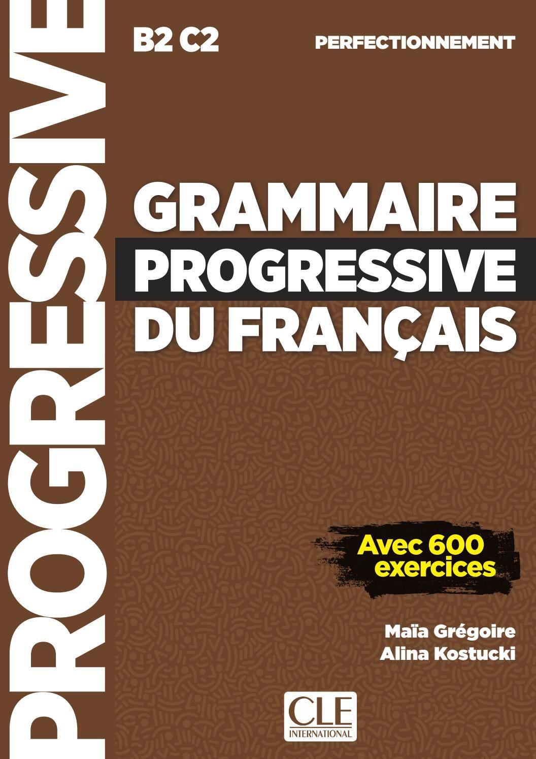 Grammaire Progressive Du Francais Perfectionnement Grammaire Progressive Du Francais Grammaire Telechargement