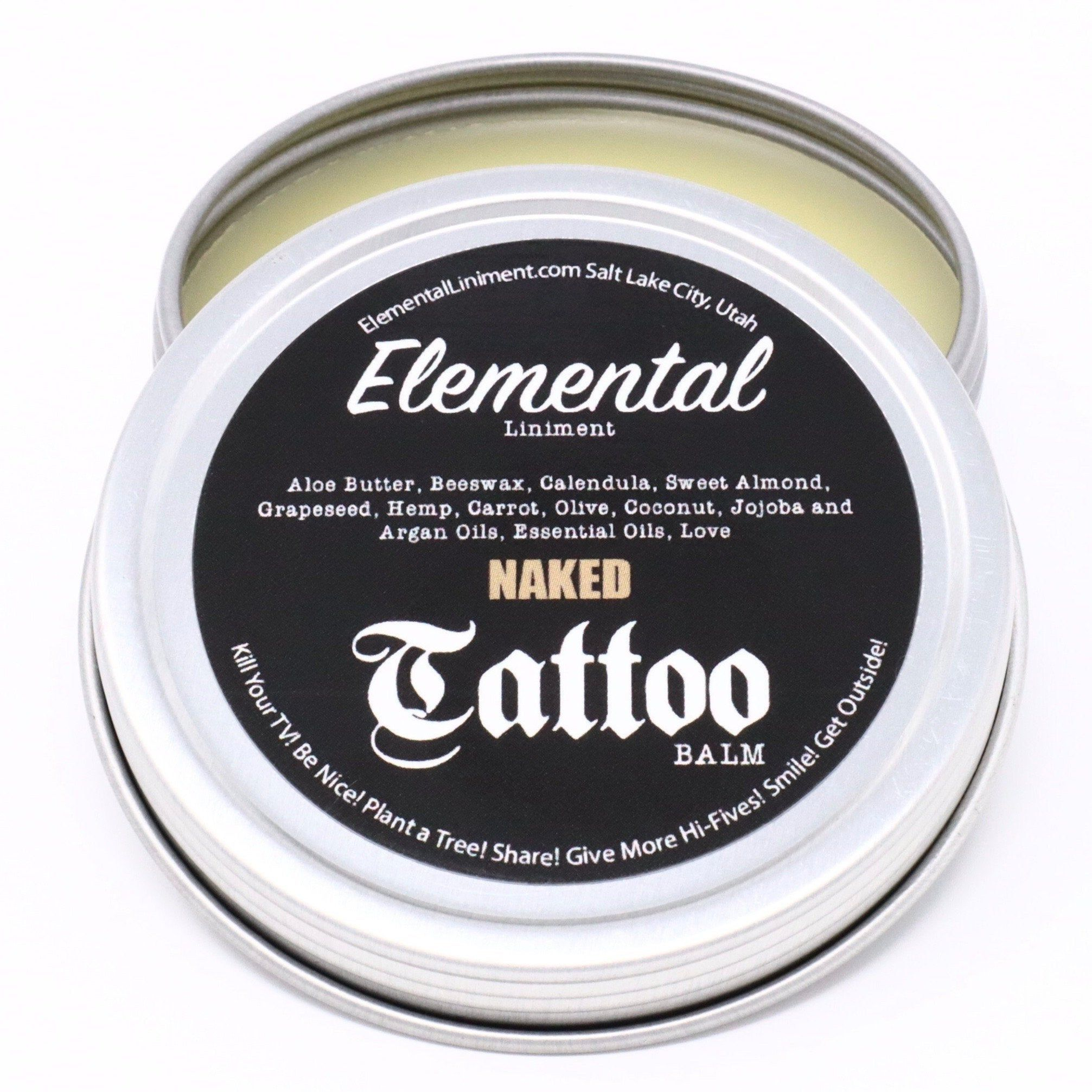 All Natural Organic New Tattoo Healing Ink Brightening