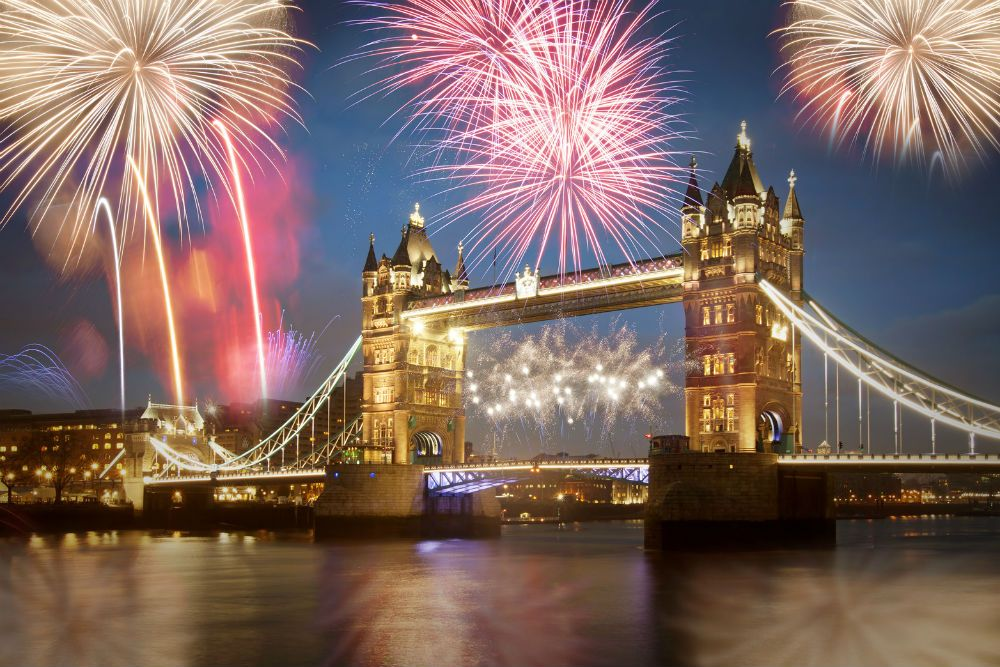 New Year S Eve At The View From The Shard In London Vacation Deals London Fireworks Holiday Travel