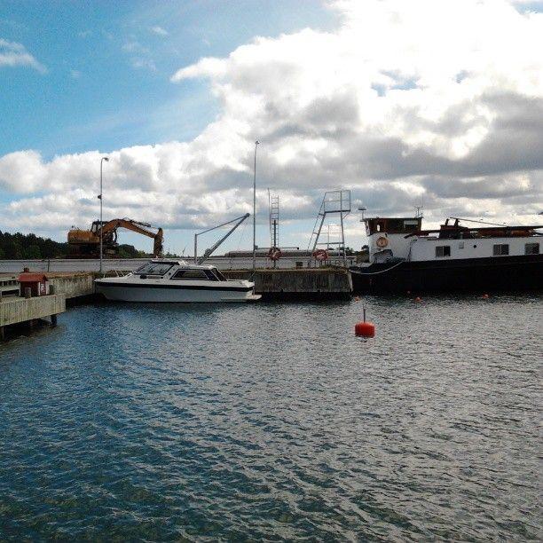 harbour, Sottunga Ahvenanmaan saaristo